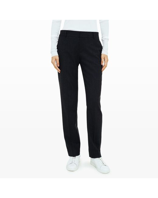 Club Monaco | Black Gaios Trouser | Lyst