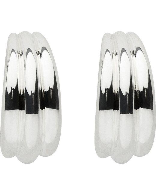 Links of London | Metallic Essentials Hope Sterling Silver Hoop Earrings | Lyst