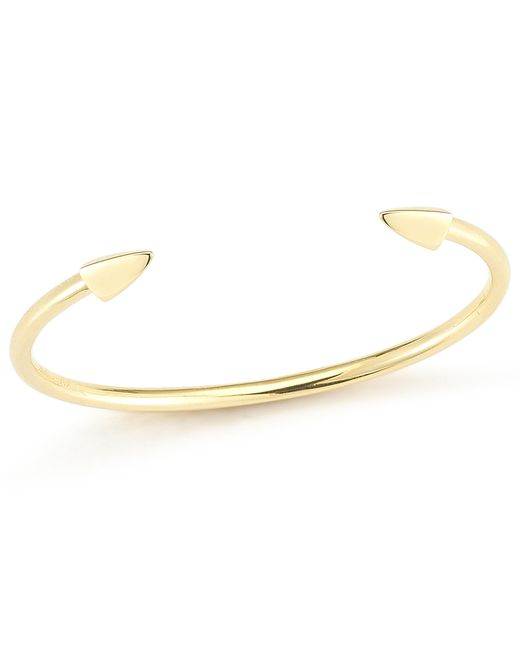 Elizabeth and James | Metallic Vogel Bangle | Lyst