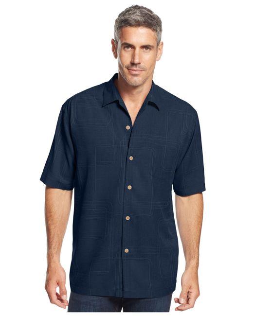 Tommy Bahama | Blue Men's Island Geo Shirt for Men | Lyst