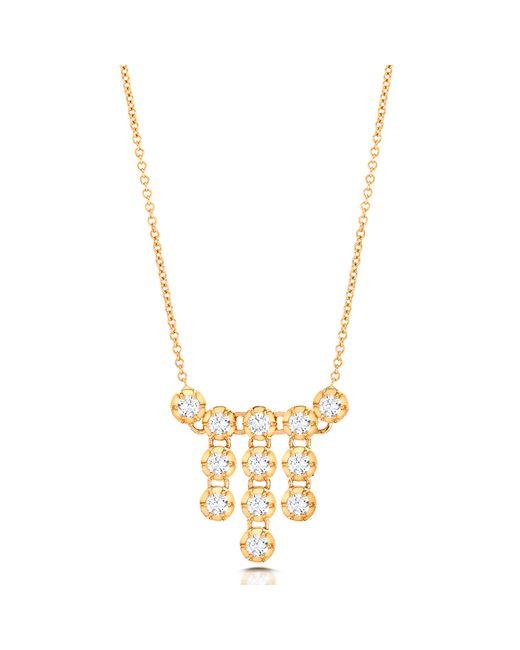 Carbon & Hyde   Metallic Chandelier Necklace   Lyst