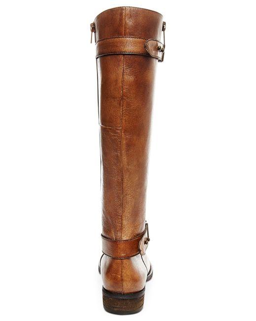 Steve Madden | Brown Women's Alyy Riding Boots | Lyst