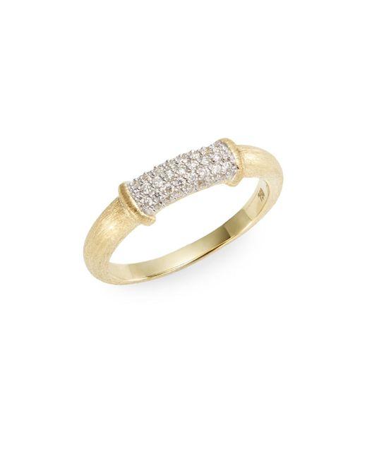 Jude Frances | Metallic Classic Pavà Diamond & 18k Yellow Gold Ring | Lyst