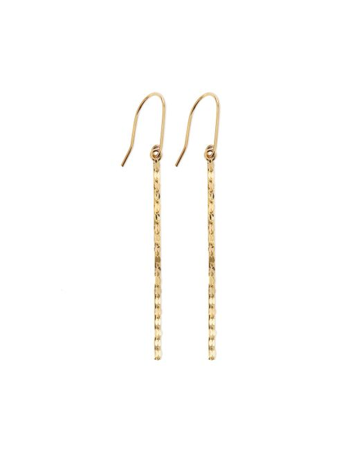 Lana Jewelry | Yellow Small 14K Glam Bar Earrings | Lyst