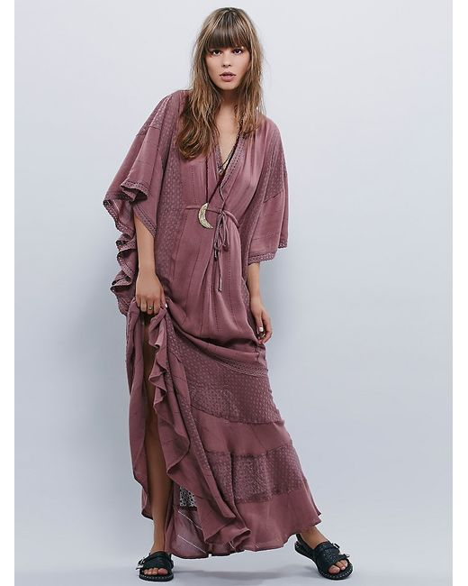 Free People | Purple Oh Valencia Caftan | Lyst