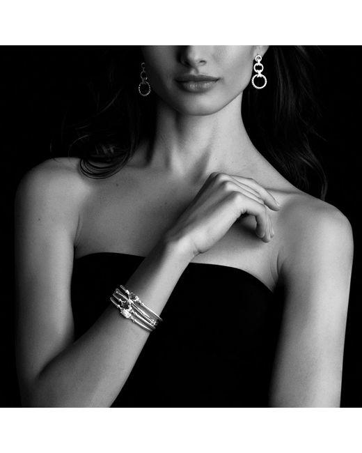 David Yurman | Metallic Châtelaine® Bracelet With Citrine And Diamonds, 9mm | Lyst