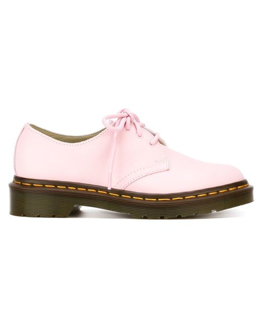 Dr. Martens U0026#39;3 Eyeu0026#39; Oxford Shoes In Pink (PINK U0026 PURPLE) - Save 41% | Lyst