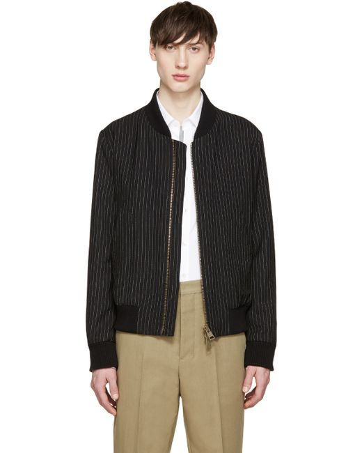 Find black and white pinstripe jacket at ShopStyle. Shop the latest collection of black and white pinstripe jacket from the most popular stores - all.