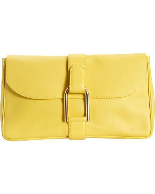 Delvaux | Yellow Givry Polo Pochette | Lyst