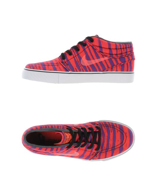 Nike | Red Low-tops & Trainers | Lyst