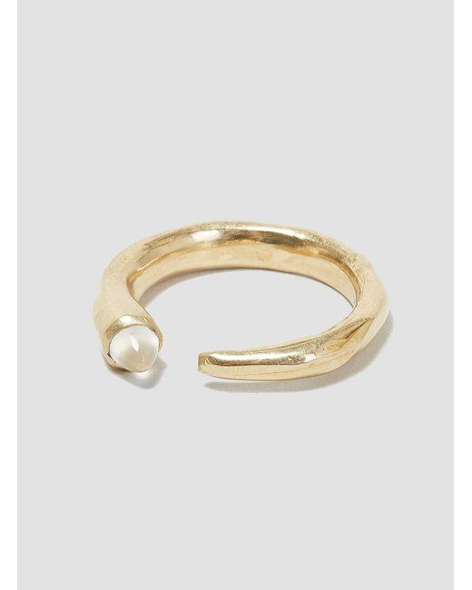 Odette New York | Metallic Moonstone Metis Ring Brass & Moonstone | Lyst