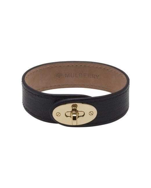 Mulberry | Black Bayswater Bracelet | Lyst