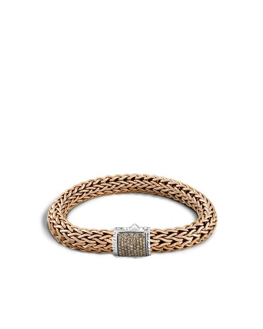 John Hardy | Metallic Classic Chain Bracelet With Diamonds for Men | Lyst