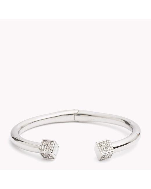 Tommy Hilfiger | Metallic Cuff Bracelet | Lyst