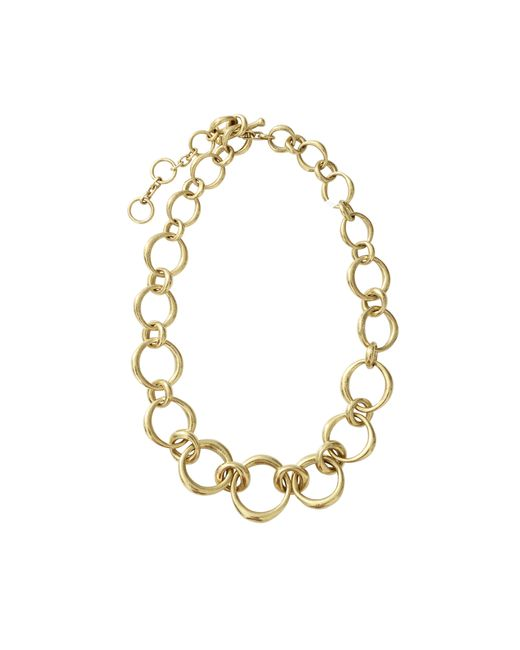 Vaubel | Metallic Chunky Oval Link Necklace | Lyst