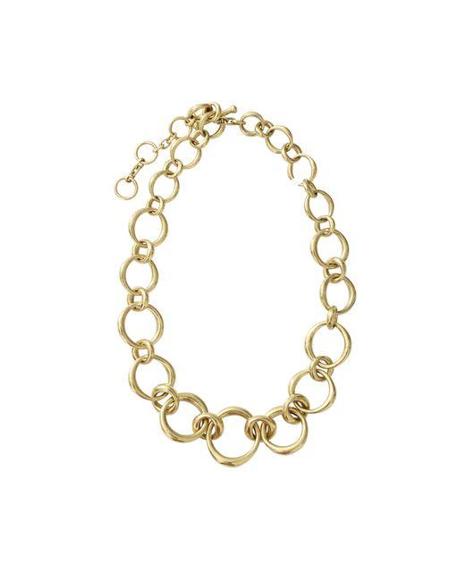 Vaubel | Metallic Chunky Oval Link Necklace | Lyst