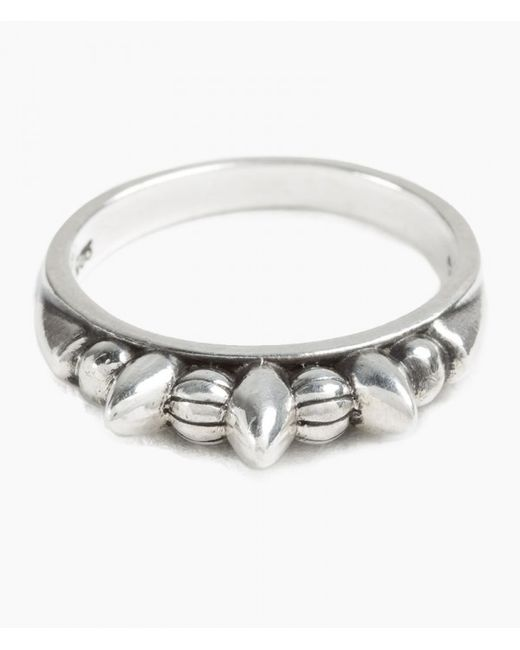Pamela Love | Metallic Thin Spike Ring | Lyst