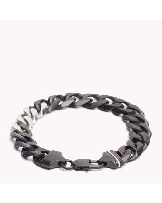 Tommy Hilfiger   Metallic Stainless Steel Bracelet   Lyst