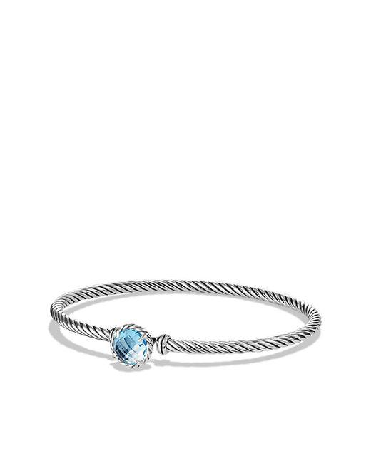 David Yurman | Chatelaine Bracelet With Blue Topaz | Lyst