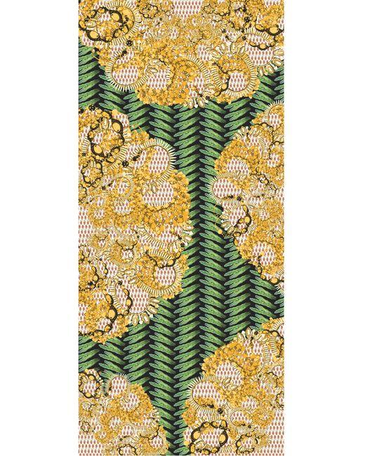 Kekkai | Multicolor Flower Patch Bling Cashmere Blend Scarf | Lyst