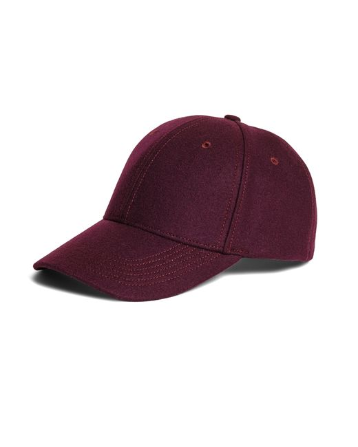 Brooks Brothers | Purple Wool Baseball Hat for Men | Lyst