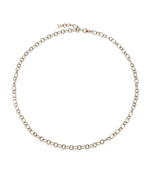 Temple St. Clair | Metallic 18k Yellow Gold Ribbon Necklace Chain/18 | Lyst