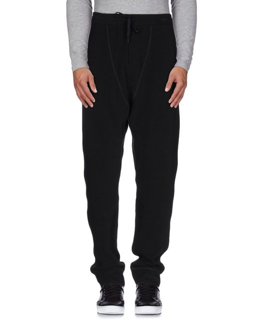 T By Alexander Wang | Black Casual Pants for Men | Lyst