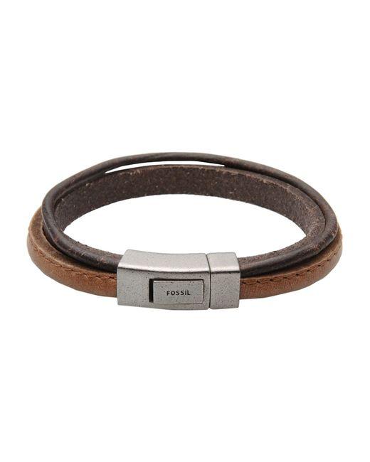 Fossil | Brown Bracelet | Lyst