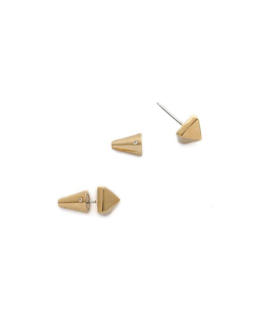 Eddie Borgo | Metallic Stud Earrings | Lyst