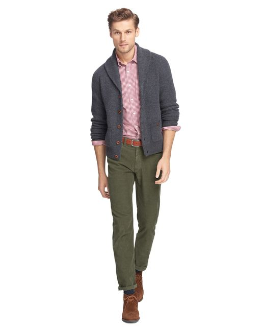 Brooks Brothers | Green Five-pocket Corduroys for Men | Lyst