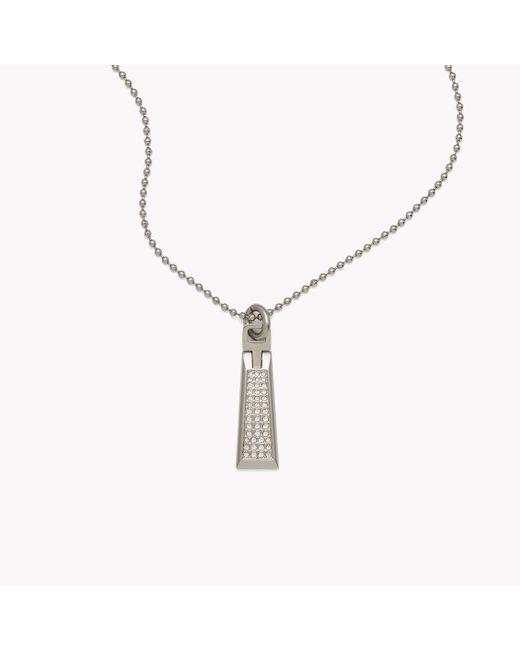 Tommy Hilfiger | Multicolor Pendant Necklace | Lyst