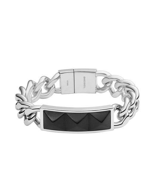 DIESEL | Black Bracelet Dx0938 for Men | Lyst
