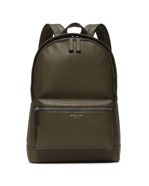 Michael Kors | Green Bryant Backpack for Men | Lyst