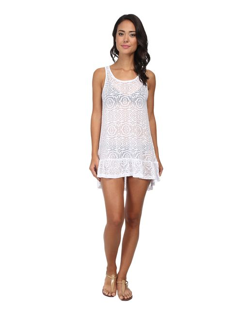 Body Glove | White Ariel Tank Dress Cover-up | Lyst