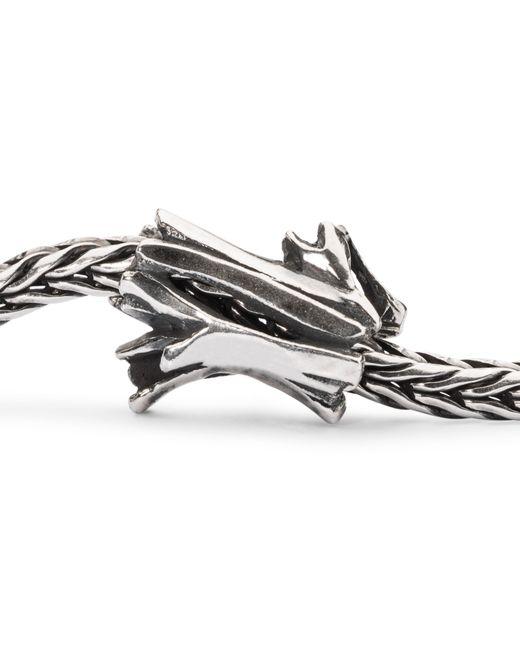 Trollbeads   Metallic Trunk Of Treasures Charm   Lyst
