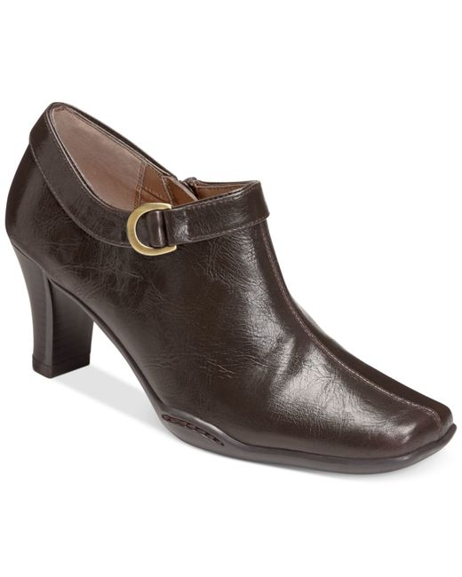 Aerosoles | Brown Cingle Handed Shooties, Only At Macy's | Lyst