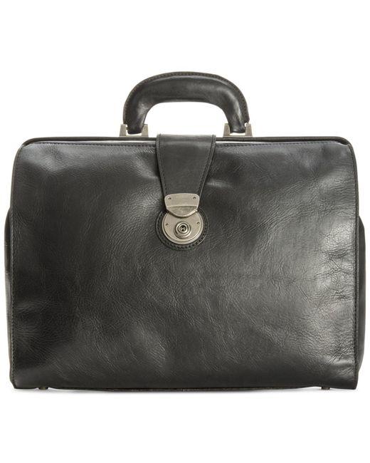 Patricia Nash | Black Nash Men's Heritage Leather Slim Briefcase for Men | Lyst
