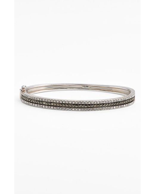 Judith Jack | Metallic Triple Row Bangle | Lyst