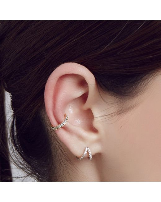 Carbon & Hyde | Metallic Rock Ear Cuff | Lyst