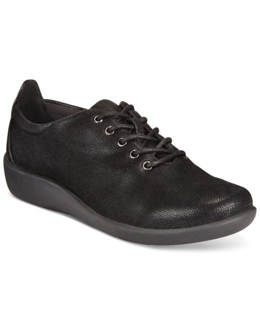 Clarks | Black Collection Women's Cloud Steppers Sillian Tino Sneakers | Lyst