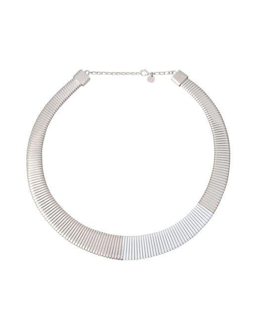 MM6 by Maison Martin Margiela | Metallic Links Necklace | Lyst