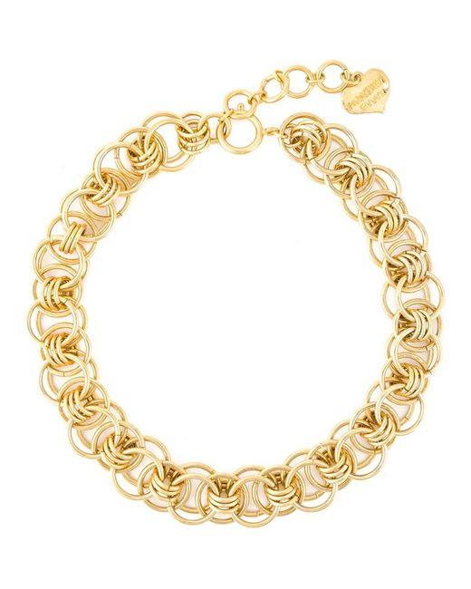 Moschino | Metallic Chain Necklace | Lyst