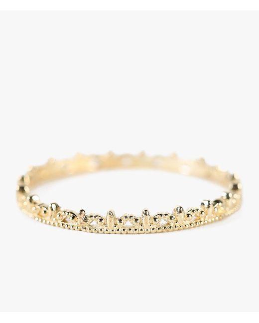 Grace Lee | Metallic Semi-beaded Ring | Lyst