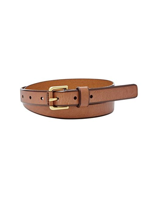 Fossil | Brown 'explorer Buckle' Leather Belt | Lyst