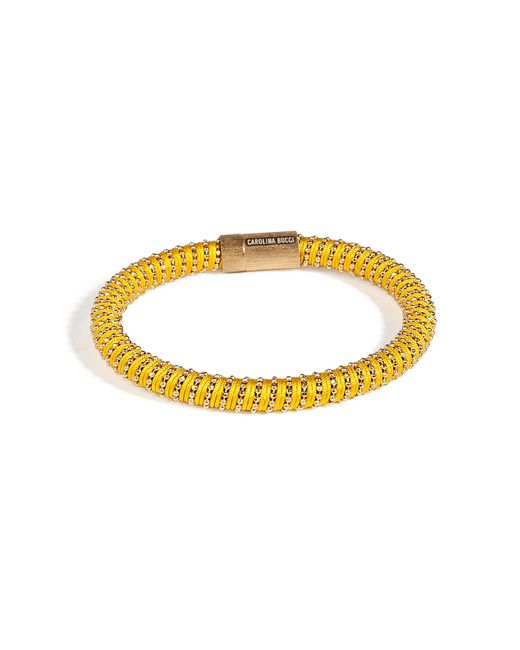 Carolina Bucci | Metallic Gold-plated Twister Bracelet In Yellow | Lyst