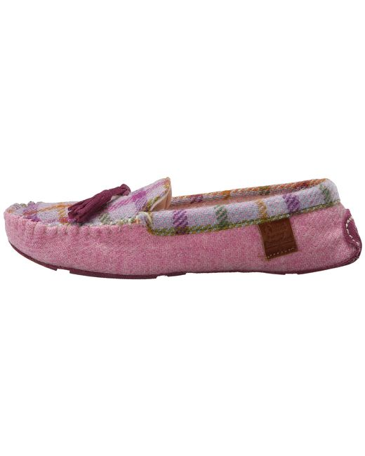 Bedroom Athletics Zara In Purple (Lilac/Pink Check)