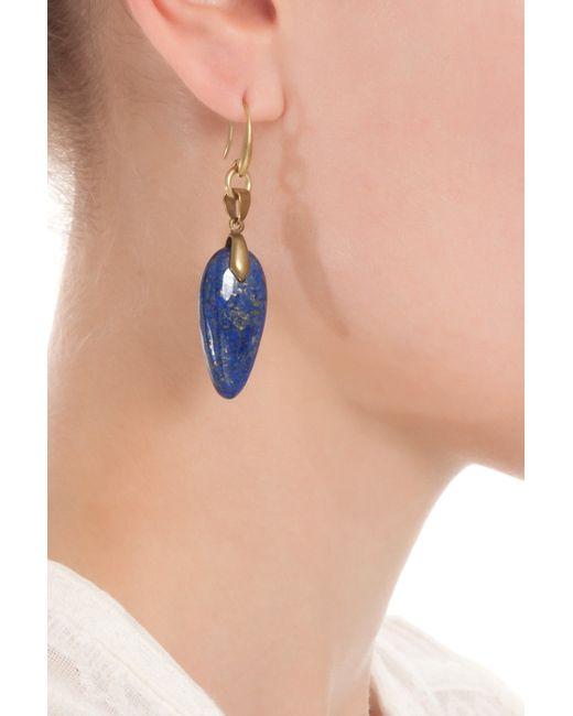 Isabel Marant | Blue Saul Arrow Drop Earrings | Lyst