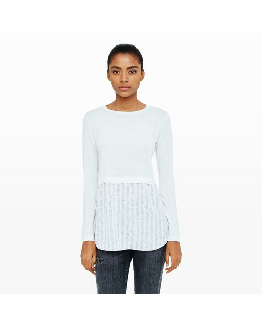 Club Monaco | White Azadeh Sweater | Lyst
