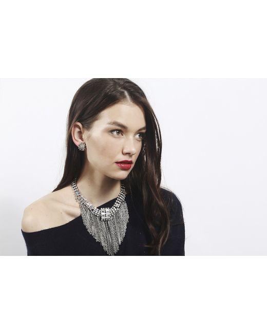 DANNIJO | Metallic Charlotte Clear | Lyst