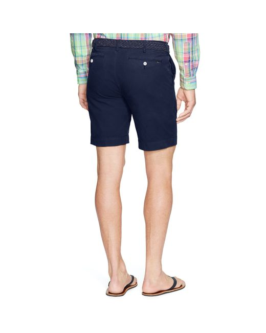 Polo Ralph Lauren | Blue Straight-fit Pima Chino Short for Men | Lyst